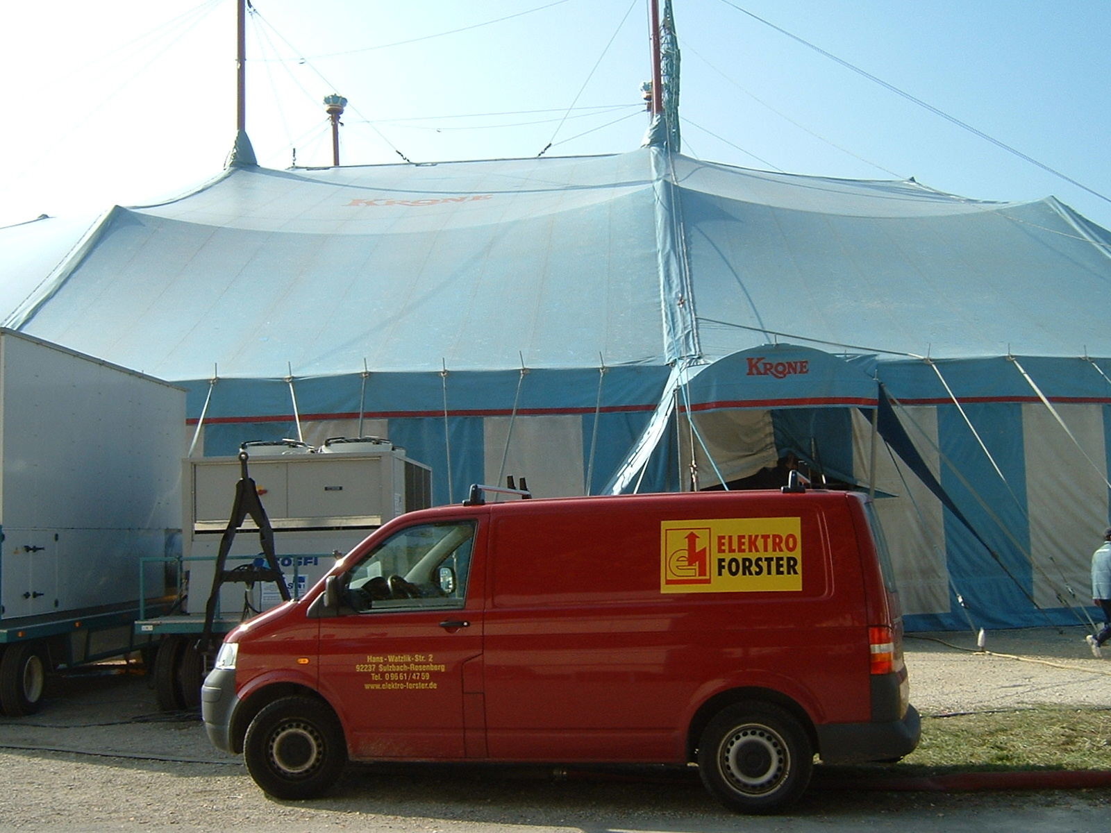 Circus Krone mit Elektro Forster